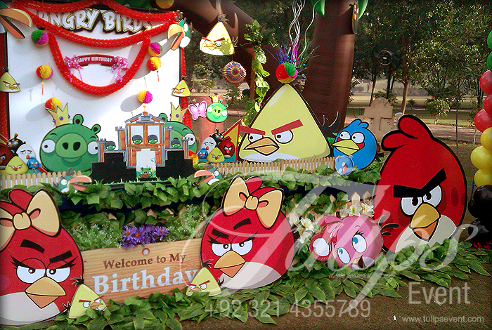 Tulips event best angry birds zoo themed birthday party planner angry birds themed birthday ideas angry filmwisefo Choice Image