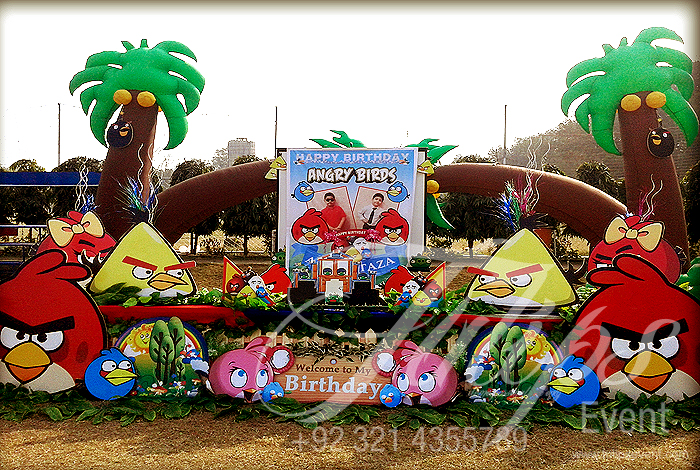 Angry Birds Themed Birthday Party Ideas Planner in Lahore ...