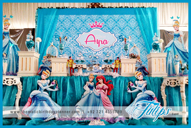 Tulips event best princess birthday party decoration supplies kids princess cinderella party theme thecheapjerseys Choice Image