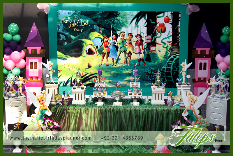 Tulips Event Best Tinkerbell Pixie Themed Birthday Party