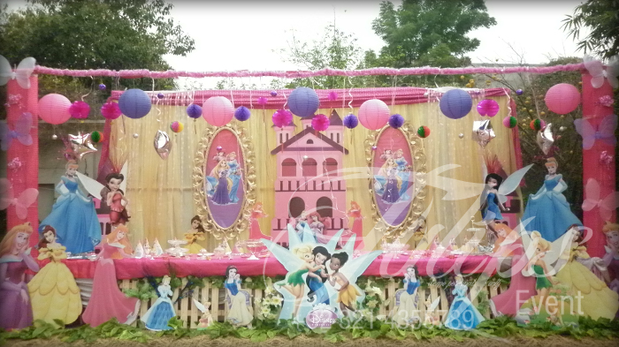 Disney Princess Themed Party Ideas