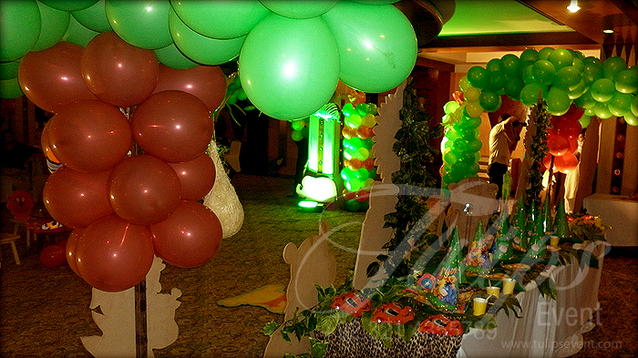 Jungle Themed Party Decoration