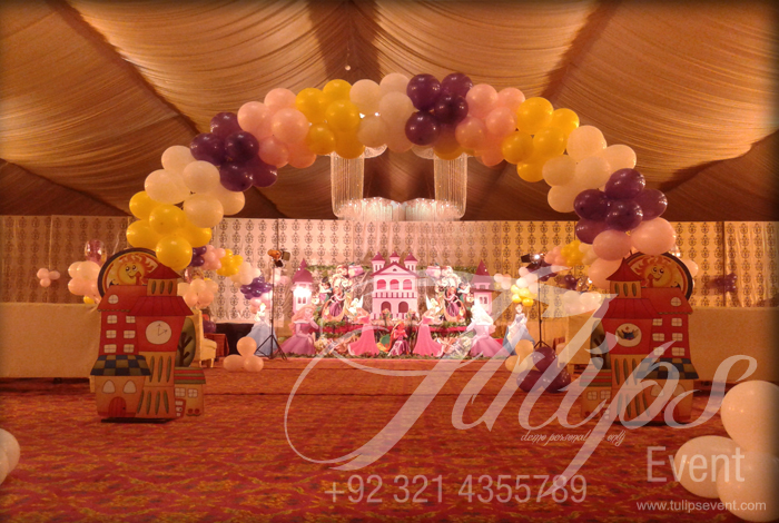 Rapunzel Tangled Birthday Party Ideas Tulips Event Pakistan 07