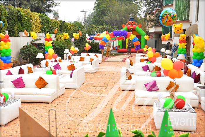 Tulipsevent - Best Jungle Safari Zoo themed birthday party planner and ...