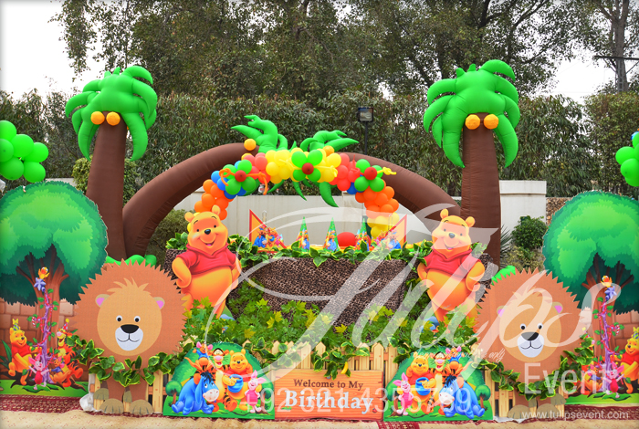 jungle zoo birthday party ideas image inspiration of