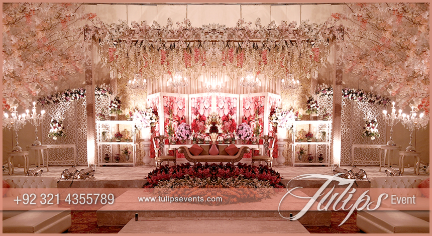 Furniture Design In Pakistan 2017 tulips event - best pakistani wedding stage decoration flowering