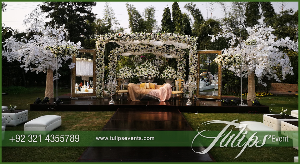 Tulips event best pakistani wedding stage decoration flowering for pakistani wedding stage design junglespirit Gallery