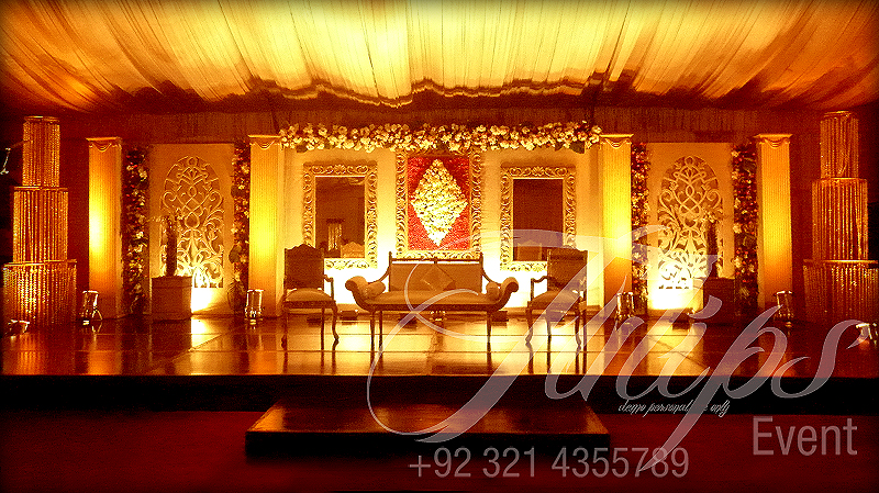 Tulips Event Best Themed Wedding Planner Flower Stage Decoration Lighting Catering Services