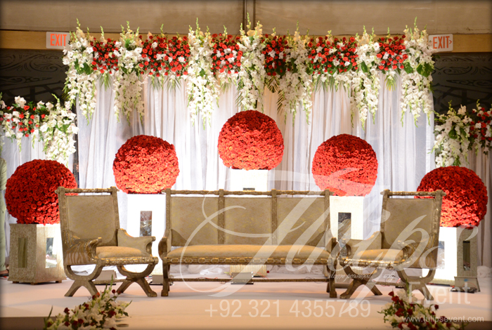 Tulips Event Best Pakistani Wedding Decoration Flowering For
