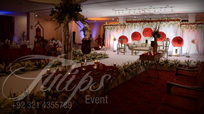 Tulips Event Best Pakistani Wedding Decoration Flowering