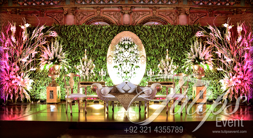 Tulips event best wedding planner walima stage flowering walima themed junglespirit Image collections