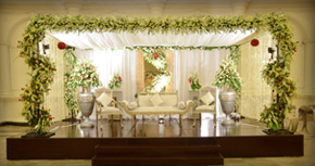 Tulips event best wedding planner wedding stage decorator mehndi indoor square doom setup junglespirit Gallery