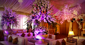Tulips Event Best Thematic Wedding Planner Flower Stage Decoration